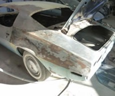 Restauration véhicules anciens